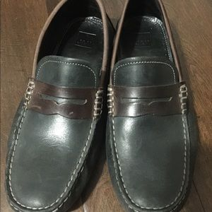 Men's Johnston Murphy Leather Loafers Size 9